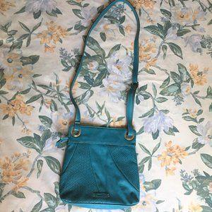 Turquoise Nine & Co. Shoulder Messenger Bag Purse